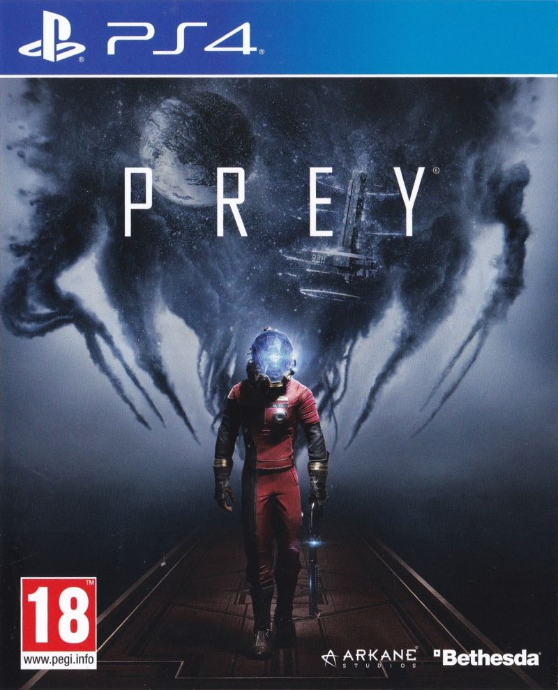 Prey (2017) PlayStation 4 box cover art - MobyGames
