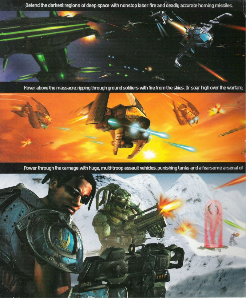 Unreal Tournament 2004 Linux Inside Cover Left