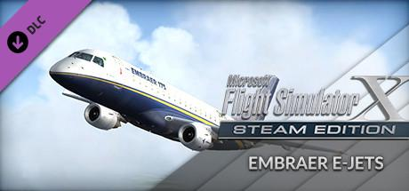 Microsoft Flight Simulator X: Steam Edition - Embraer E-Jets 175