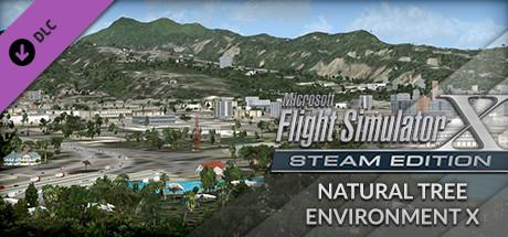 Microsoft Flight Simulator X: Steam Edition - Natural Tree Environment X
