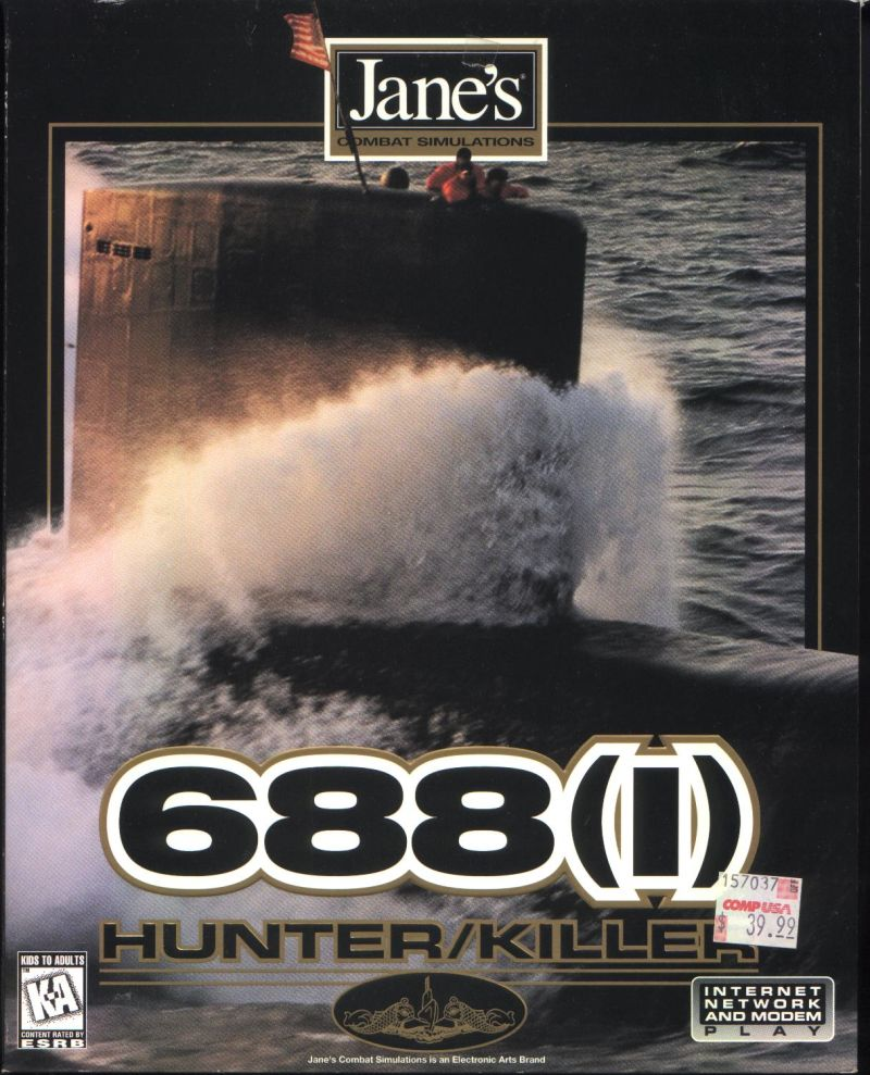 Jane's Combat Simulations: 688(I) Hunter/Killer Windows Front Cover