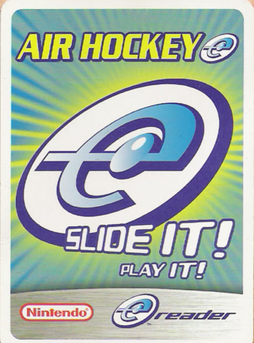 Air Hockey-e Game Boy Advance Front Cover
