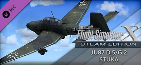 Microsoft Flight Simulator X: Steam Edition - JU87 D.5/G.2 Stuka Windows Front Cover