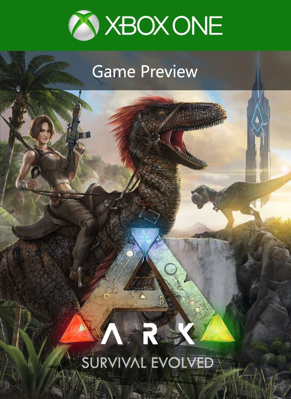 ARK: Survival Evolved (2015) Xbox One box cover art - MobyGames