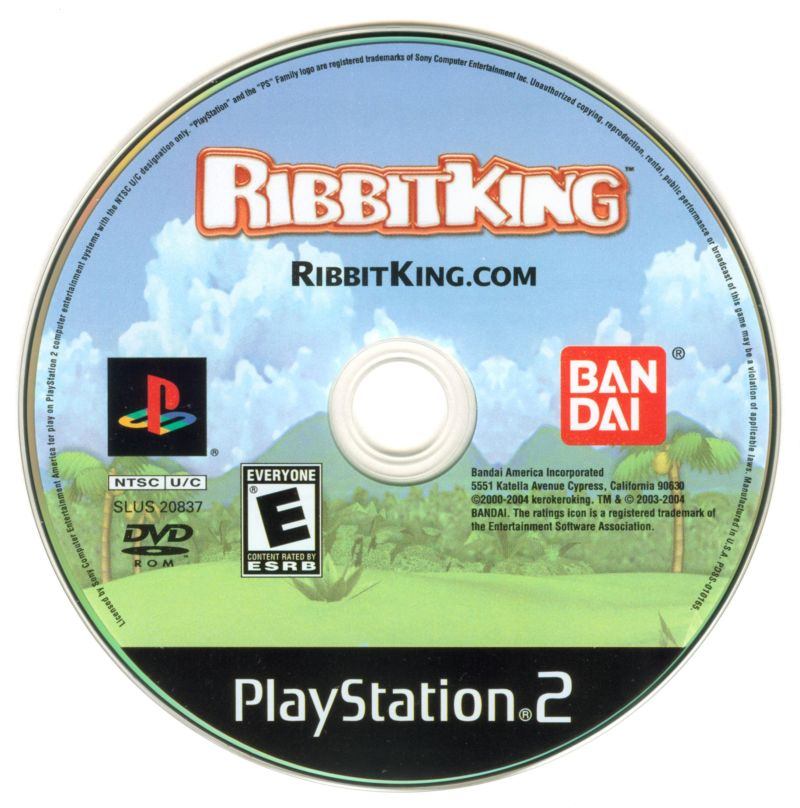 Ribbit King PlayStation 2 Media