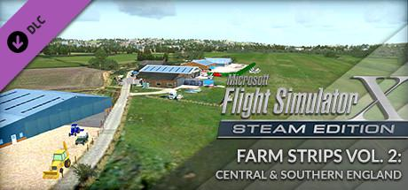 Microsoft Flight Simulator X: Steam Edition - Farm Strips Vol. 2: Central & Southern England