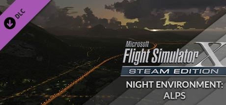 Microsoft Flight Simulator X: Steam Edition - Night Environment: Alps