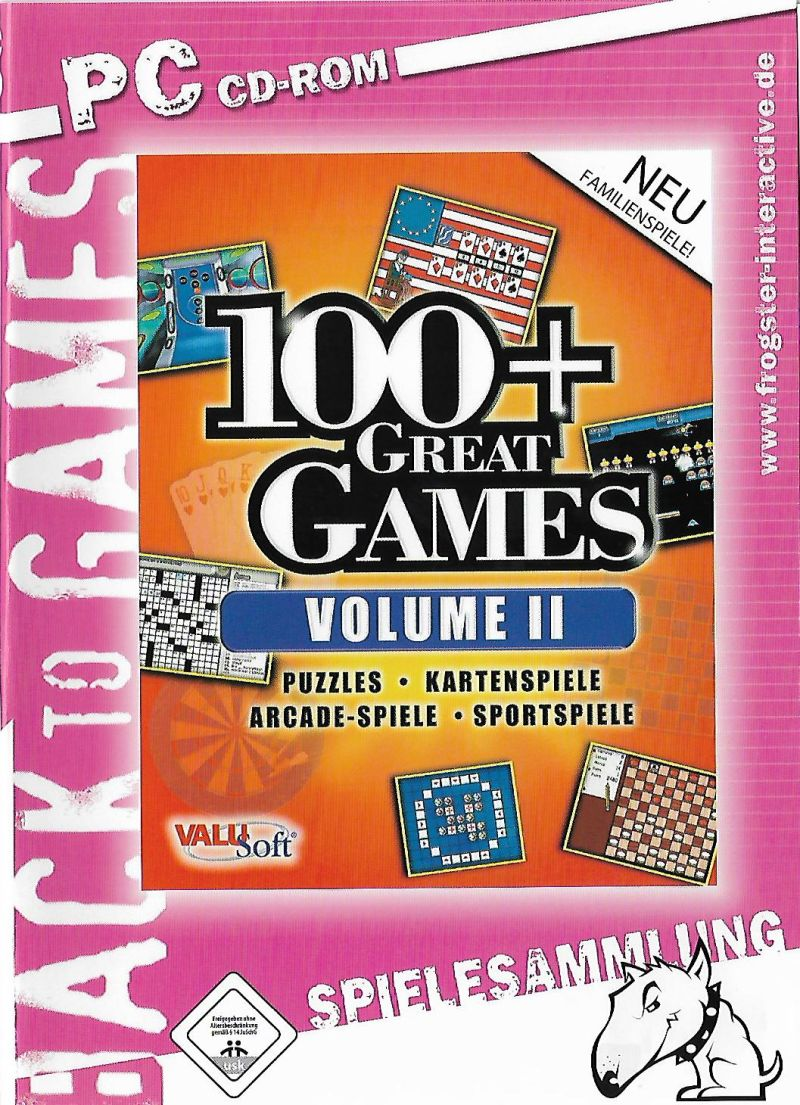 100+ Great Games: Volume II