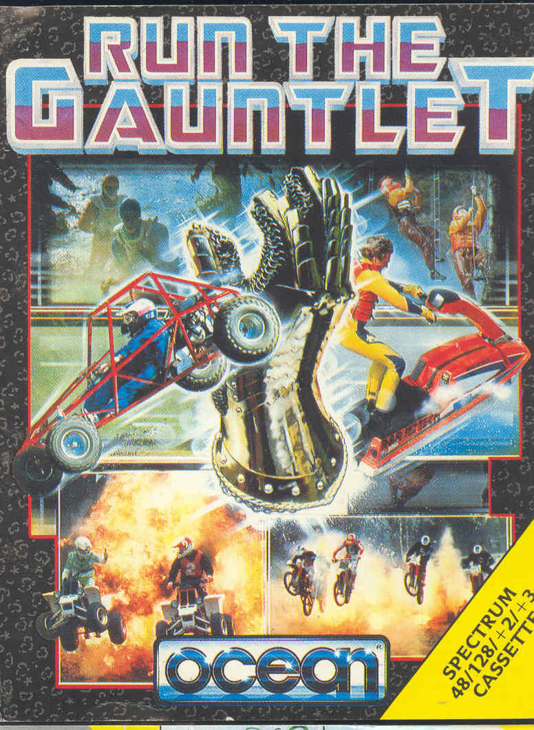 Run the Gauntlet ZX Spectrum Front Cover