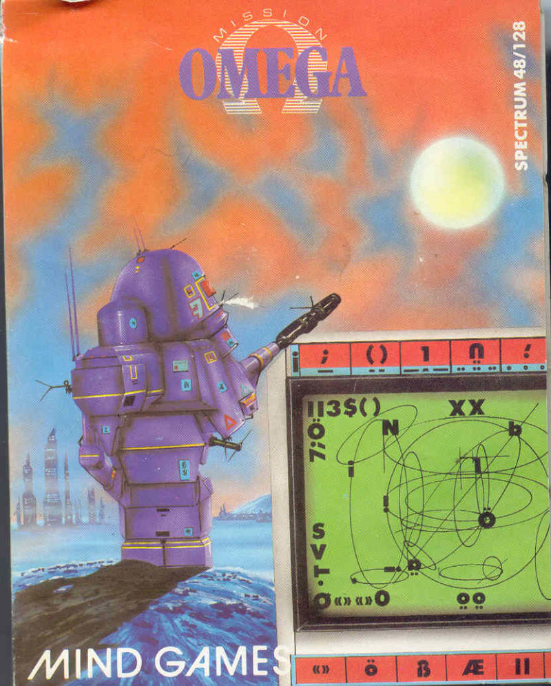 Mission Omega ZX Spectrum Front Cover