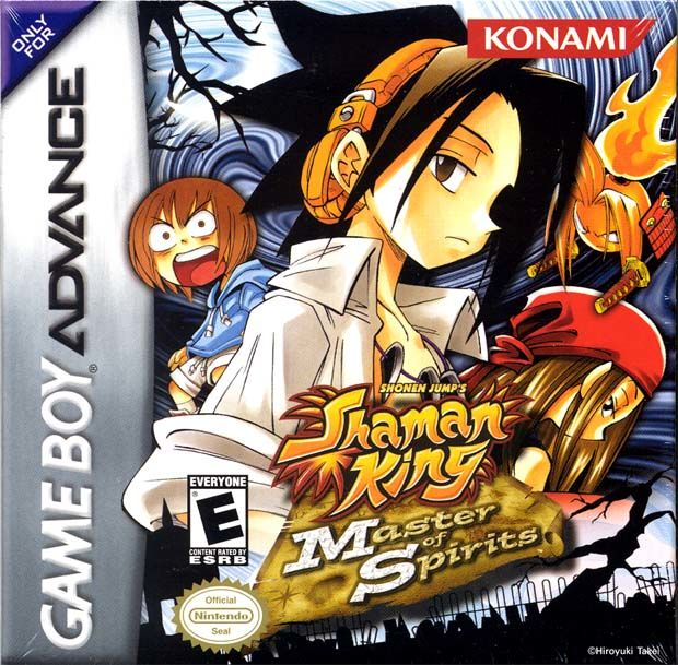 Shaman King: Master of Spirits Game Boy Advance Front Cover