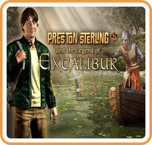 Preston Sterling and the Legend of Excalibur Wii U Front Cover