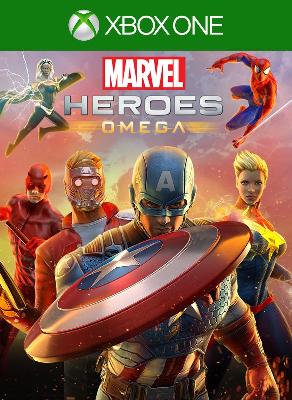 Marvel Heroes: Omega (2017) Xbox One box cover art - MobyGames