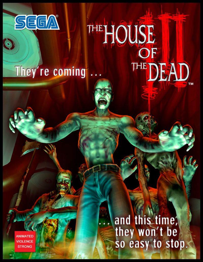 The House Of The Dead Iii For Arcade 2002 Mobygames