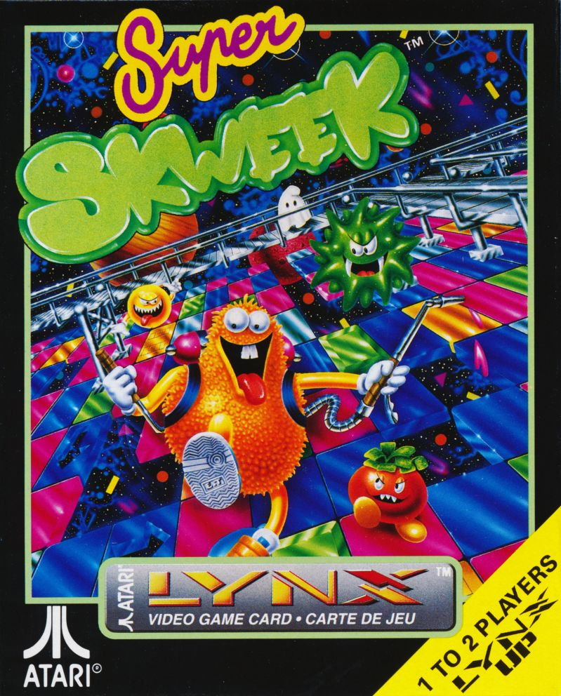 Super Skweek Lynx Front Cover