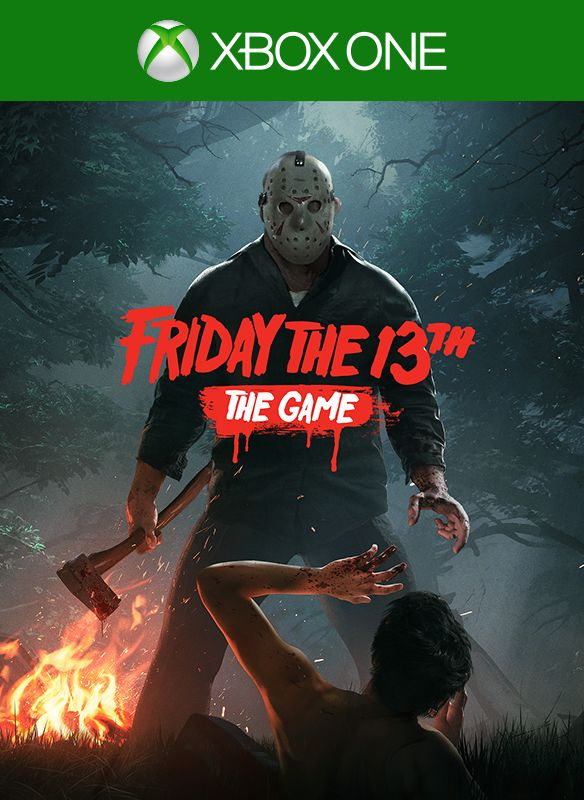 Xbox 1 Games Covers Friday the 13th: The G...