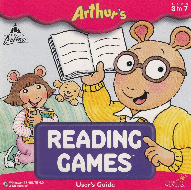 постер игры Arthur's Reading Games