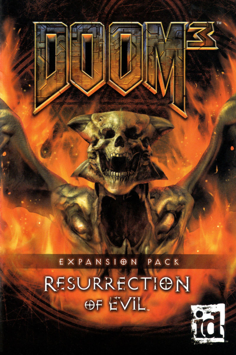 DOOM³: Resurrection of Evil Windows Manual Front