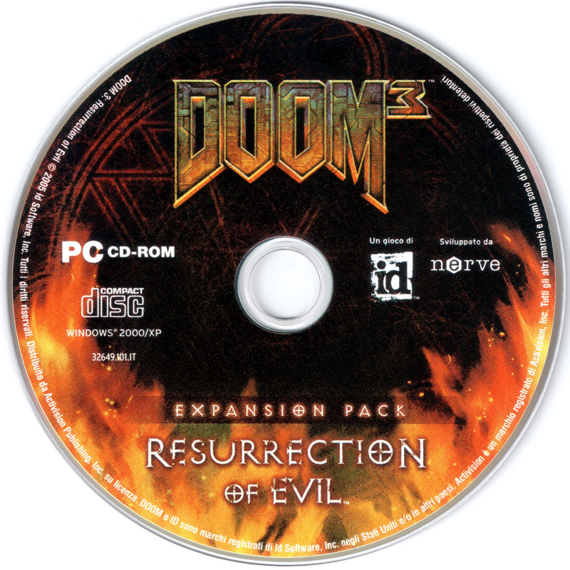 DOOM³: Resurrection of Evil Windows Media