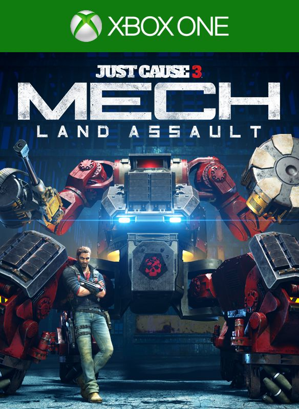 just cause 3 mech land assault for xbox one 2016. Black Bedroom Furniture Sets. Home Design Ideas