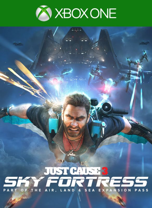 just cause 3 sky fortress pack for xbox one 2016. Black Bedroom Furniture Sets. Home Design Ideas