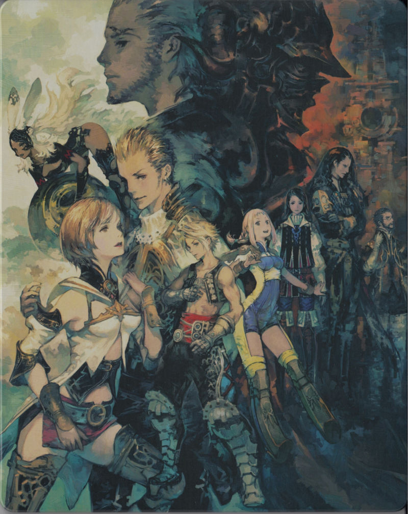 Book Cover Fantasy Zodiac : Final fantasy xii the zodiac age limited steelbook