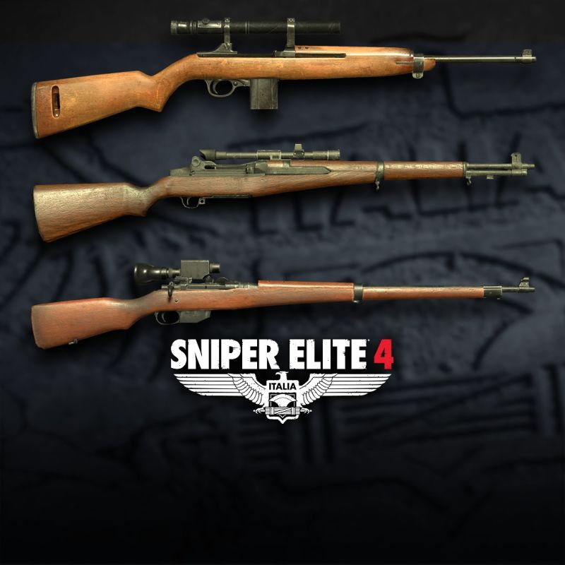 Sniper Elite 4: Italia - Allied Forces Rifle Pack 2017 pc game Img-1