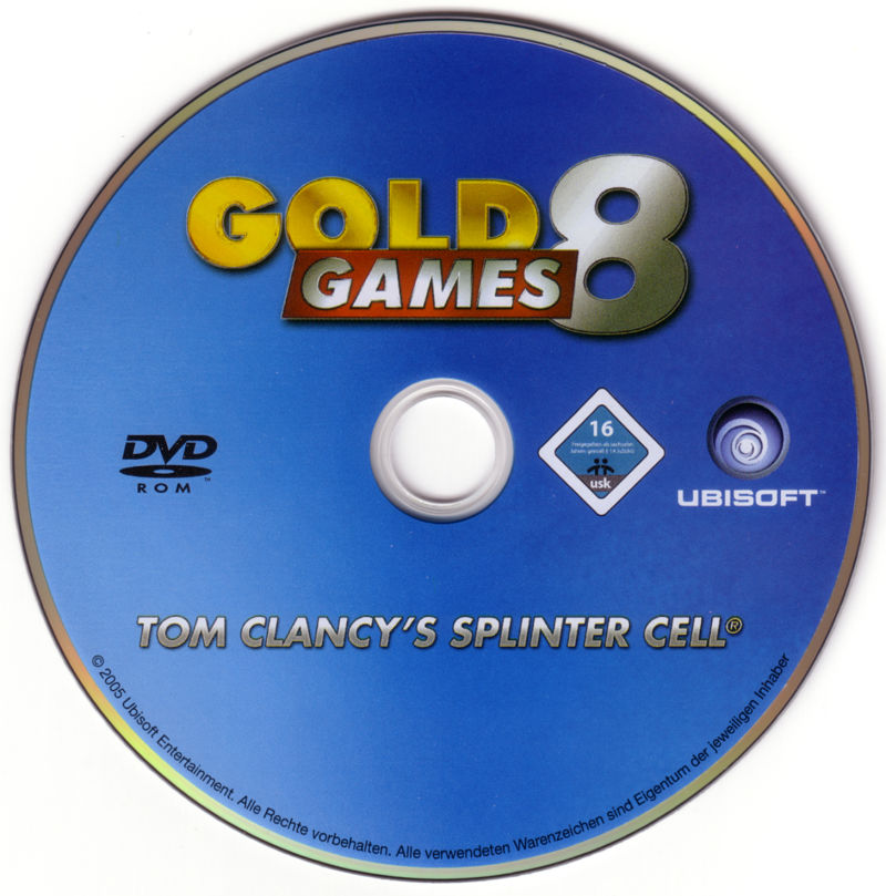 Gold Games 8 Windows Media Disc 1/4