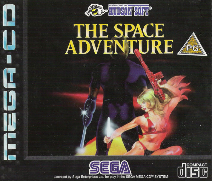 The Space Adventure SEGA CD Front Cover