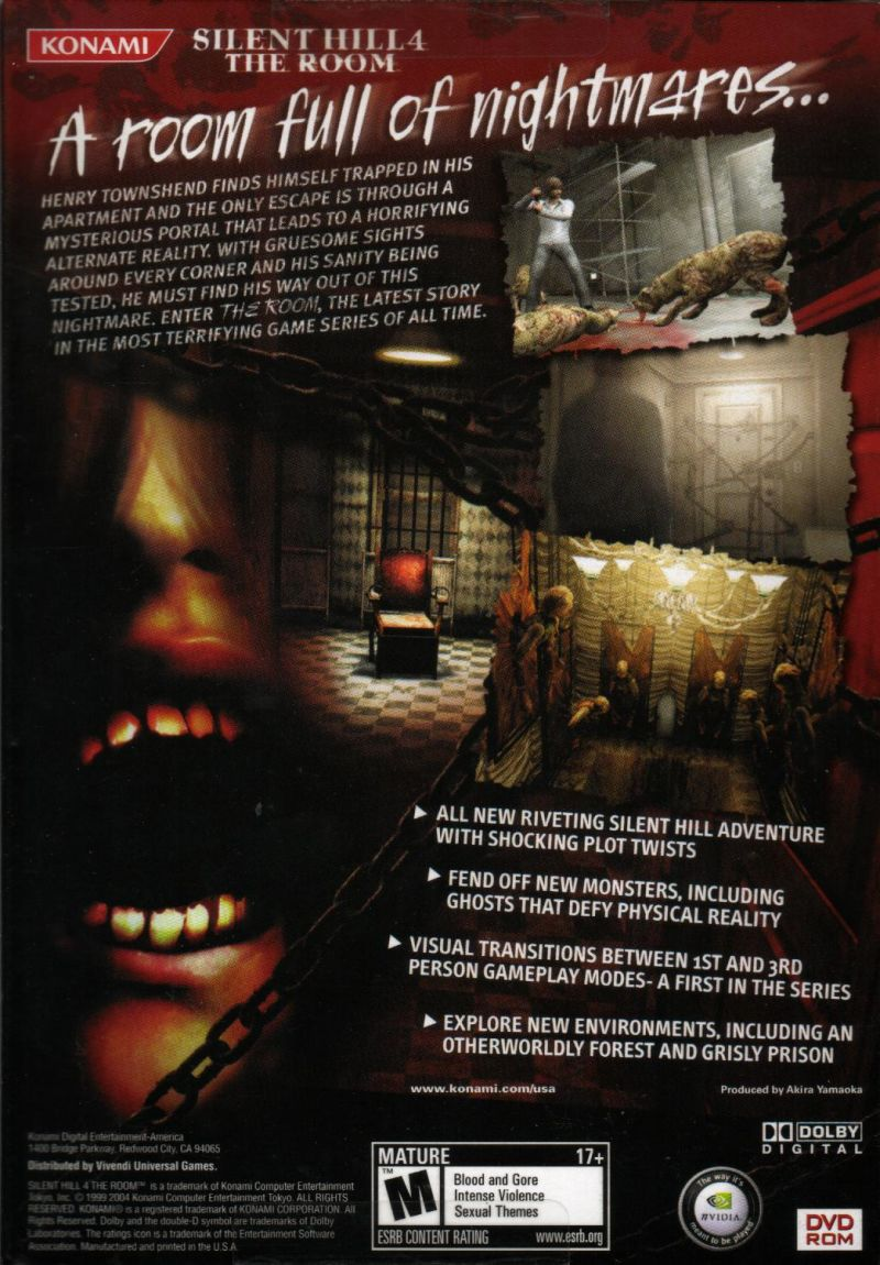 silent hill the room ps2