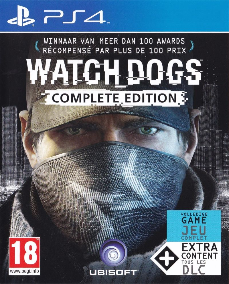 Watch_Dogs (Complete Edition) (2014) PlayStation 3 box ...