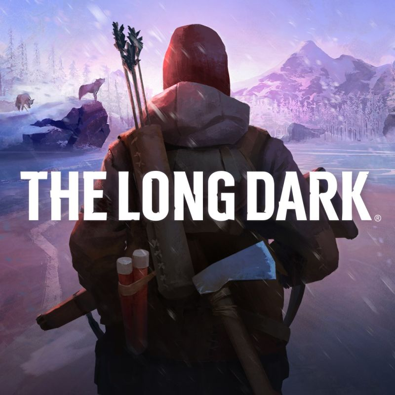 The Long Dark PlayStation 4 Front Cover 1st version