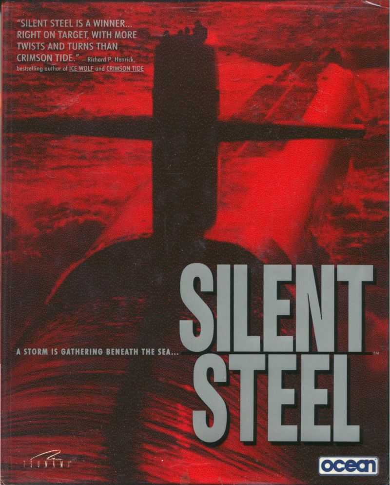 Silent Steel Windows 3.x Front Cover with Transparent Sleeve