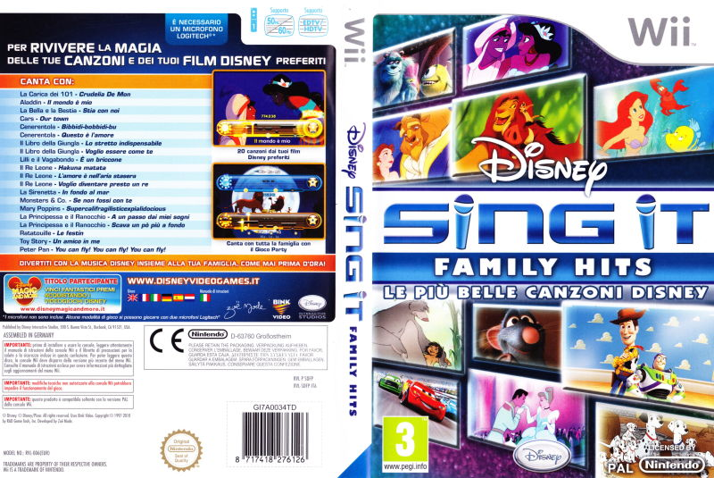 Disney Sing It: Family Hits for PlayStation 3 Reviews ...