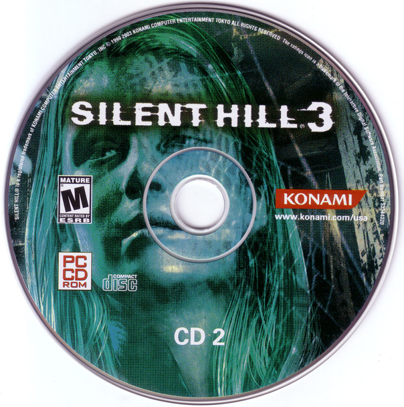 Silent Hill 3 Windows Media Disc 2
