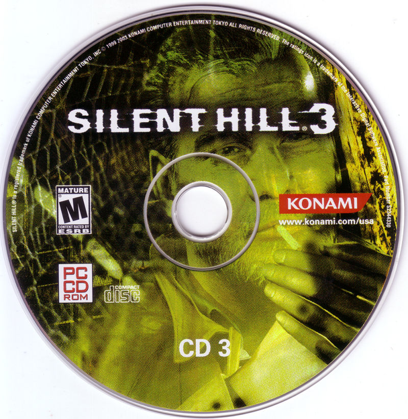 Silent Hill 3 Windows Media Disc 3