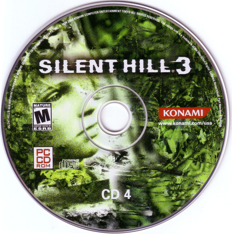 Silent Hill 3 Windows Media Disc 4
