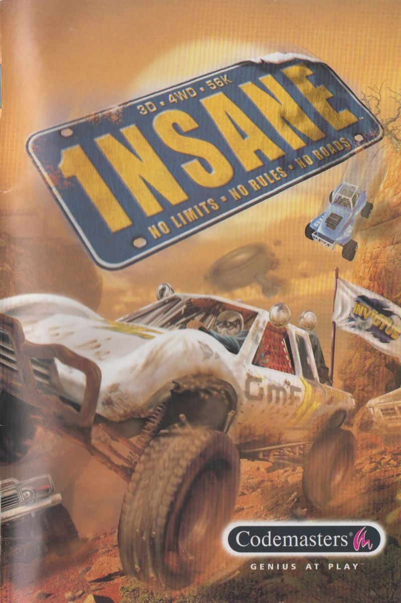 1NSANE Windows Manual Front