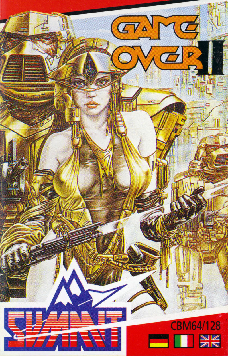 Game Over II Commodore 64 Front Cover