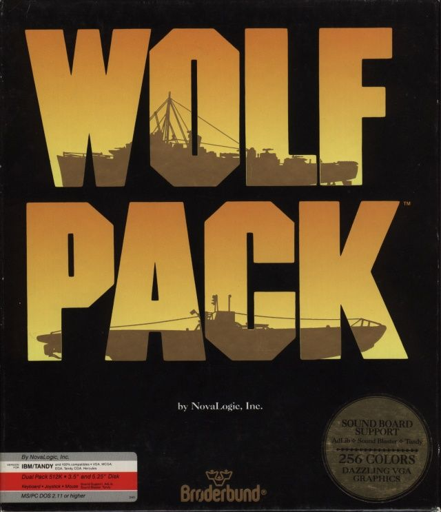 WolfPack DOS Front Cover