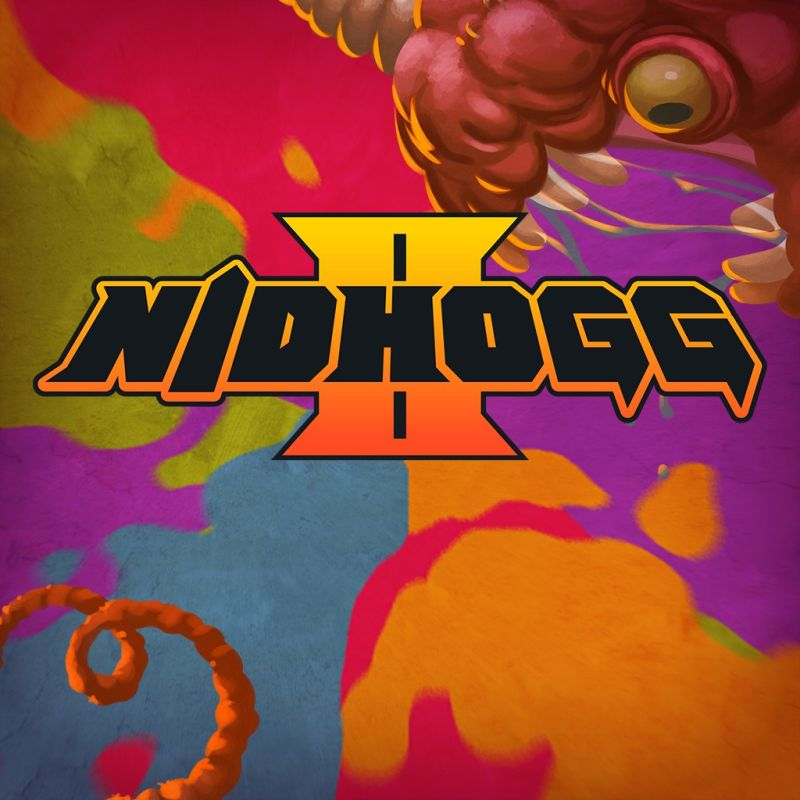 Nidhogg II PlayStation 4 Front Cover
