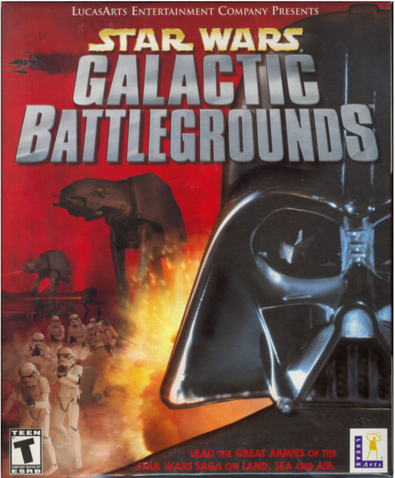 Star Wars: Galactic Battlegrounds Windows Front Cover