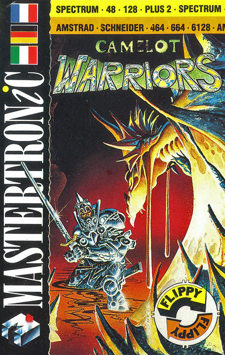 Camelot Warriors Amstrad CPC Front Cover