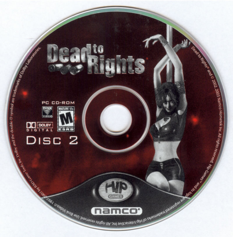 Dead to Rights Windows Media Disc 2