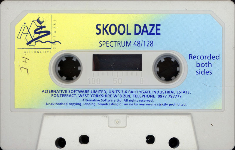 Skool Daze ZX Spectrum Media