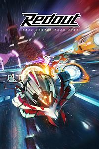 Redout: Lightspeed Edition Xbox One Front Cover 2nd version