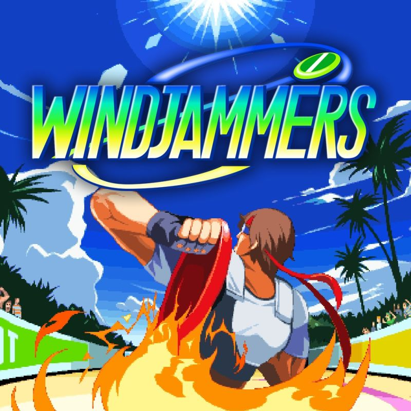 Windjammers PlayStation 4 Front Cover