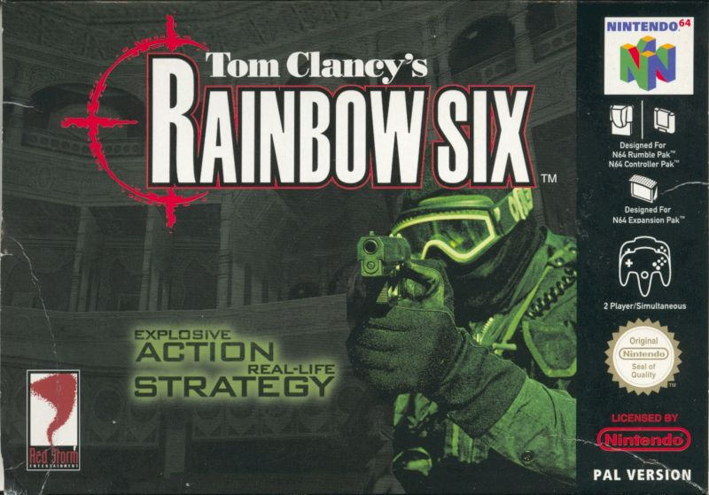 Tom Clancy's Rainbow Six for Nintendo 64 (1999) - MobyGames
