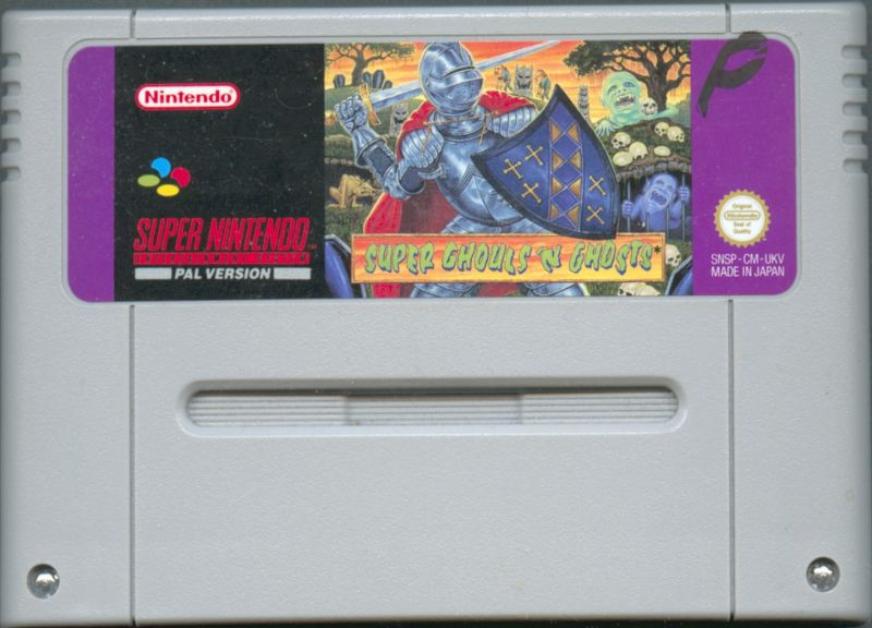 Super Ghouls 'N Ghosts SNES Media
