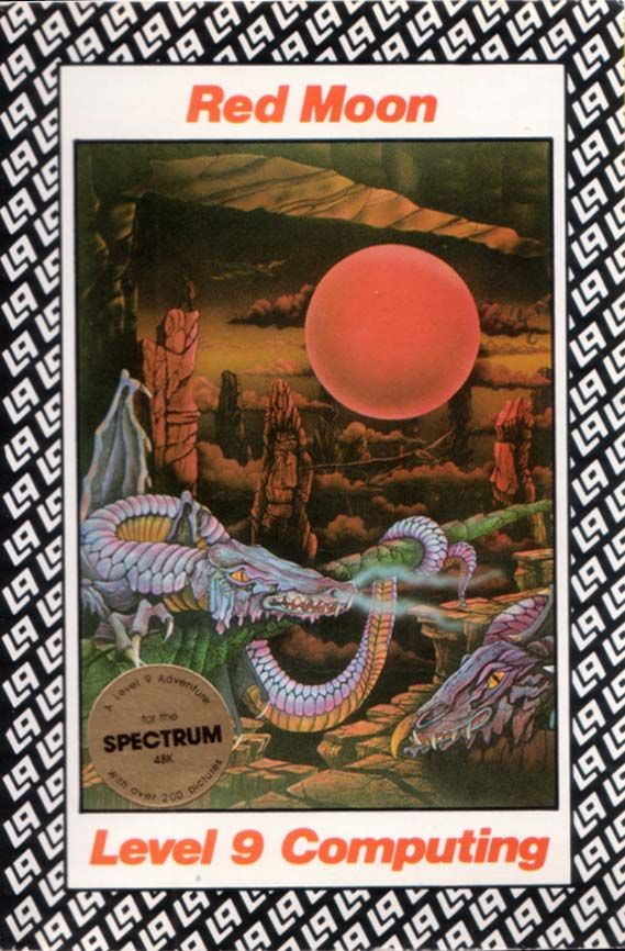 Red Moon ZX Spectrum Front Cover